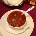 Traditional Goulash soup.