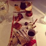 Assiette of minature desserts - amazing!