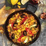 Try our famous paella