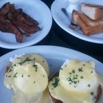 LOVED the Eggs Benedicte!