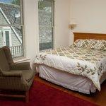 Hotel Room at Skamokawa Resort.