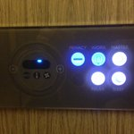 Touch controls included climate, multiple lighting and blinds conveniently located