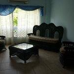 Sala en las habitaciones