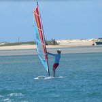 windsurfing noosa river