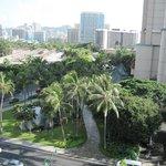 View of the Hilton Hawaiian Village - you save big bucks!