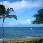 The beautiful view from our lanai!