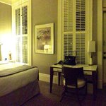 Our Victorian Room with beautiful shutters