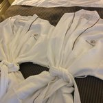 His and Hers robe provided in our room