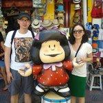 """With Mafalda"""