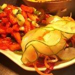 Crispy spicy potatoes