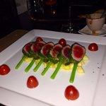 Tuna with Thai asparagus