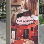 Casa Merendon Street Sign