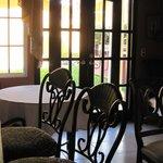 Breakfast room at Casa Merendon