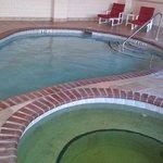 green spa, small pool