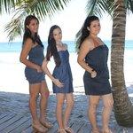 mi esposa y mis hijas