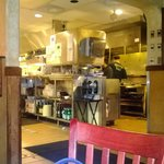 Beautiful view of the kitchen from our table