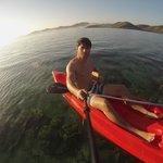 some kayakin...
