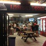 Legend Pizza shop front
