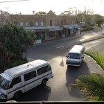 Typical Byron view, combi vans!