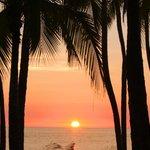 sunset at dreams!