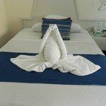 superbe pliage de serviette