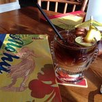 Outstanding Mai Tais. $7.00 at Happy Hour.