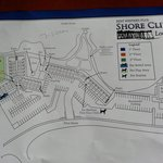 MAP OF SHORE CLIFF LODGE