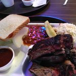 Brisket and Ribs plate