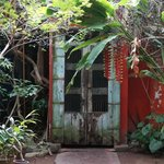 HOA entrance door