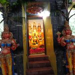 Statues of Female dwarpals Sita Temple .