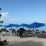 small beach area