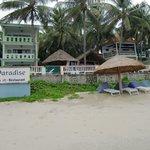 Teilanlage mit Strand