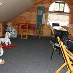The kid's playroom