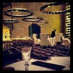 La salle du restaurant, signée Philippe Starck
