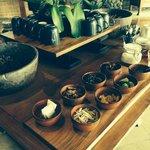 Complimentary afternoon tea poolside