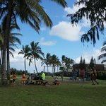 Aweoweo Beach Park ファミリーで楽しめます。
