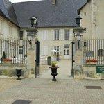 Cour d'entrée du Chateau