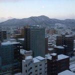 Snowy Sapporo City