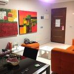 Livingroom, 1 bedroom apt