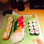 sushi & sashimi moriwase