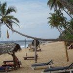 Area between Cabana and restaurant
