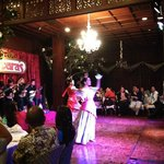 One of the cultural dances during the dinner and show