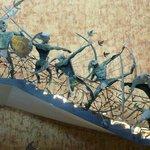 Stairway sculpture