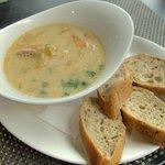 это был самый вкусный в мире рыбный бергенсий суп.