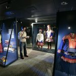 Sami costumes at the Northern Ways exhibition
