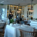 Enoteca Restaurant. Very famous Paco Perez. If you like your dinner prepared in a test tube.