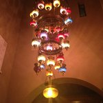 Lamp in the dining-room