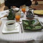 Enjoy breakfast