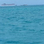 Cruise Ship in the distance