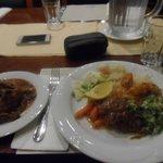 Comida da cozinha internacional